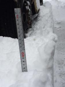 スノーシュー新雪45cm