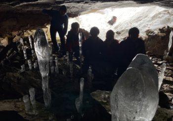 大幽洞窟スノーシュー